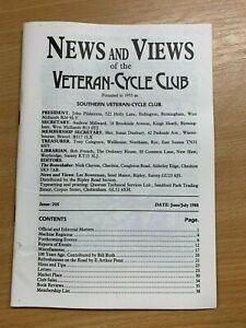 Veteran-Cycle-Club-Actualites-amp-Vues-034-205-Juin-Juillet-1988-S-Revue-Livre