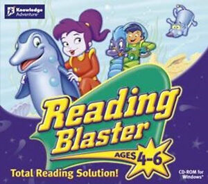 READING-BLASTER-Ages-4-6-XP-Vista-7-8-Spelling-Phonics-and-More-Brand-New
