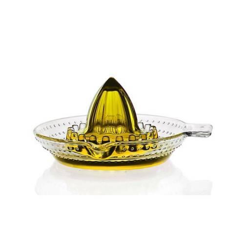Cocina de limón prensa exprimidor licuadora utensilios hechos de cristal 14 cm