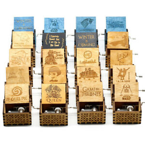 Caja de música de mano de madera reina Bohemia Rhapsody caja de música Juego de