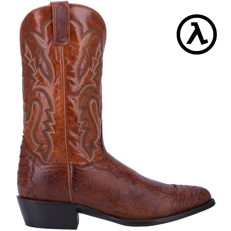 Dan Post Pugh Western Coñac botas De Vaquero DPP5210  todos Los Tamaños-Nuevo