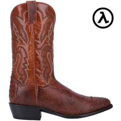 aa0fbdacbe3 DAN POST PUGH WESTERN COGNAC COWBOY BOOTS DPP5210 * ALL SIZES - NEW   eBay