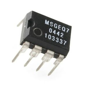 2PCS MSGEQ7 Band Graphic Equalizer IC MIXED DIP-8 MSGEQ7 NEW