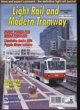 LIGHT RAIL AND MODERN TRAMWAY MAGAZINE - December 1996 - Vol. 59 - No. 708