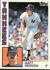 1984 Topps Matt Keough #203 Baseball Card