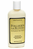 Folligen For Blondes, To Promote Hair Growth And Prevent Hair Thinning, 4 Oz. Ea