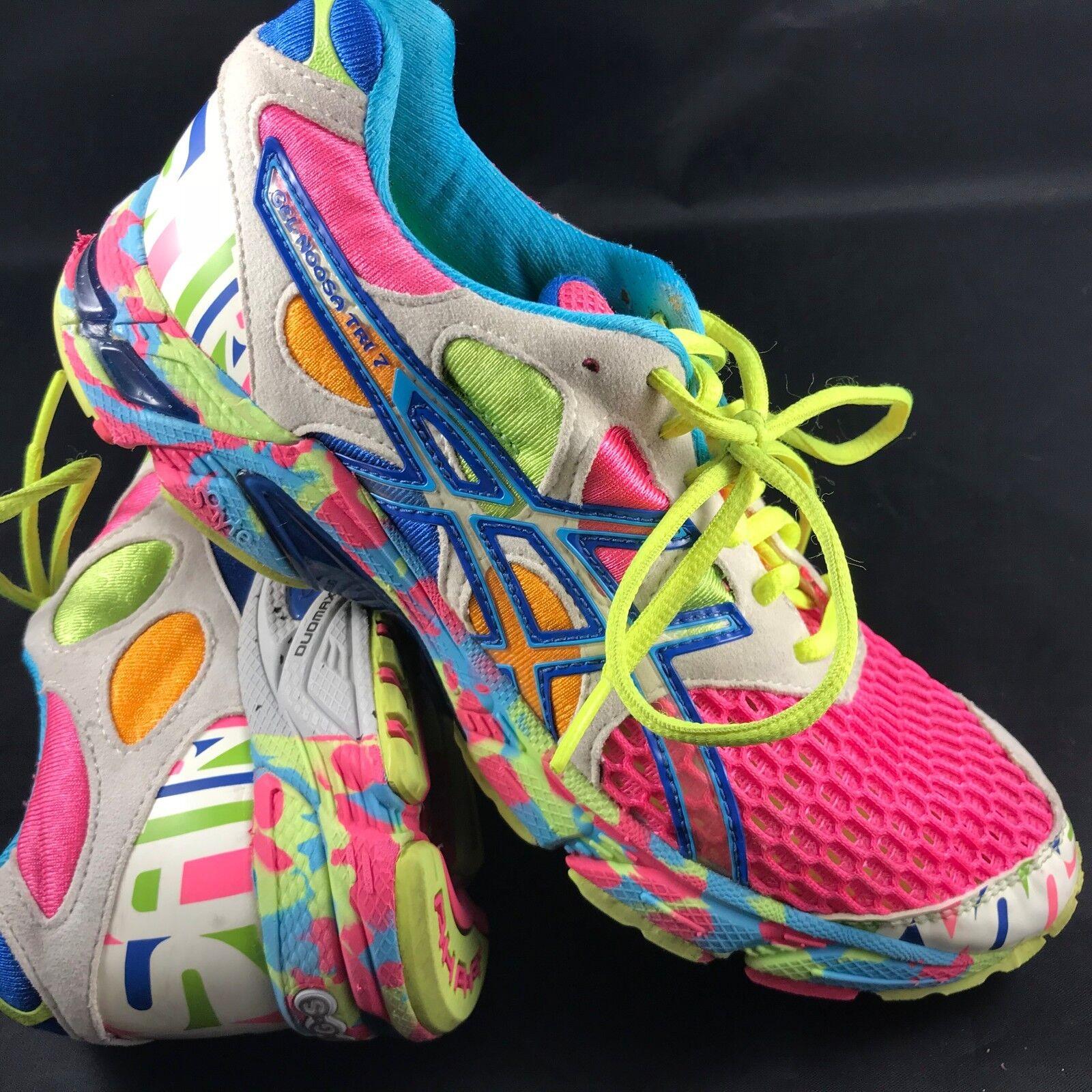 ASICS Damenschuhe GEL-NOOSA Tri-7 Triathlon training Damenschuhe EUR 6.5 37.5 EUR Damenschuhe Multicolor f7401c
