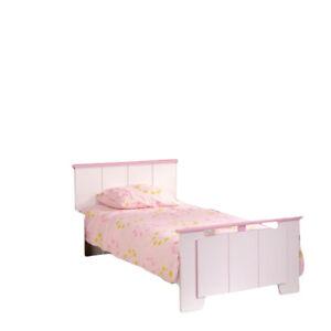 Kinderbett Mona Weiss Rosa Jugendbett Madchen Bett Kinderzimmer