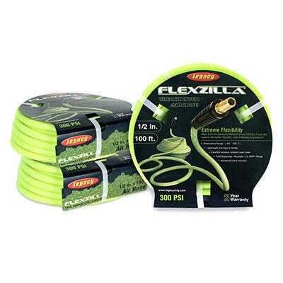 "Legacy Hfz12100yw3 Flexzilla 1/2""x100' Yellow Air Hose 3/8"" Mnpt Without Return Hydraulics, Pneumatics, Pumps & Plumbing"
