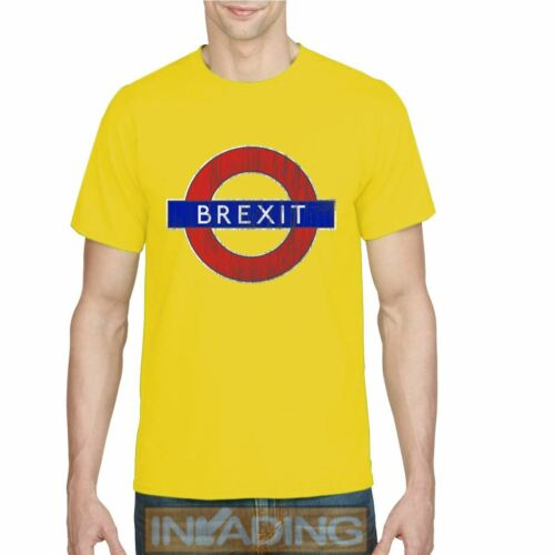 LEAVE BREXIT SIGN T-Shirt LEAVE MEANS LEAVE British EU Exit Europe Tee Top New />