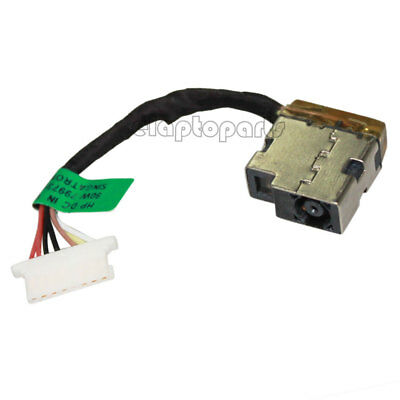 DC POWER JACK HARNESS CABLE Fr HP Pavilion X360 799735-F51 L22528-001 808155-021