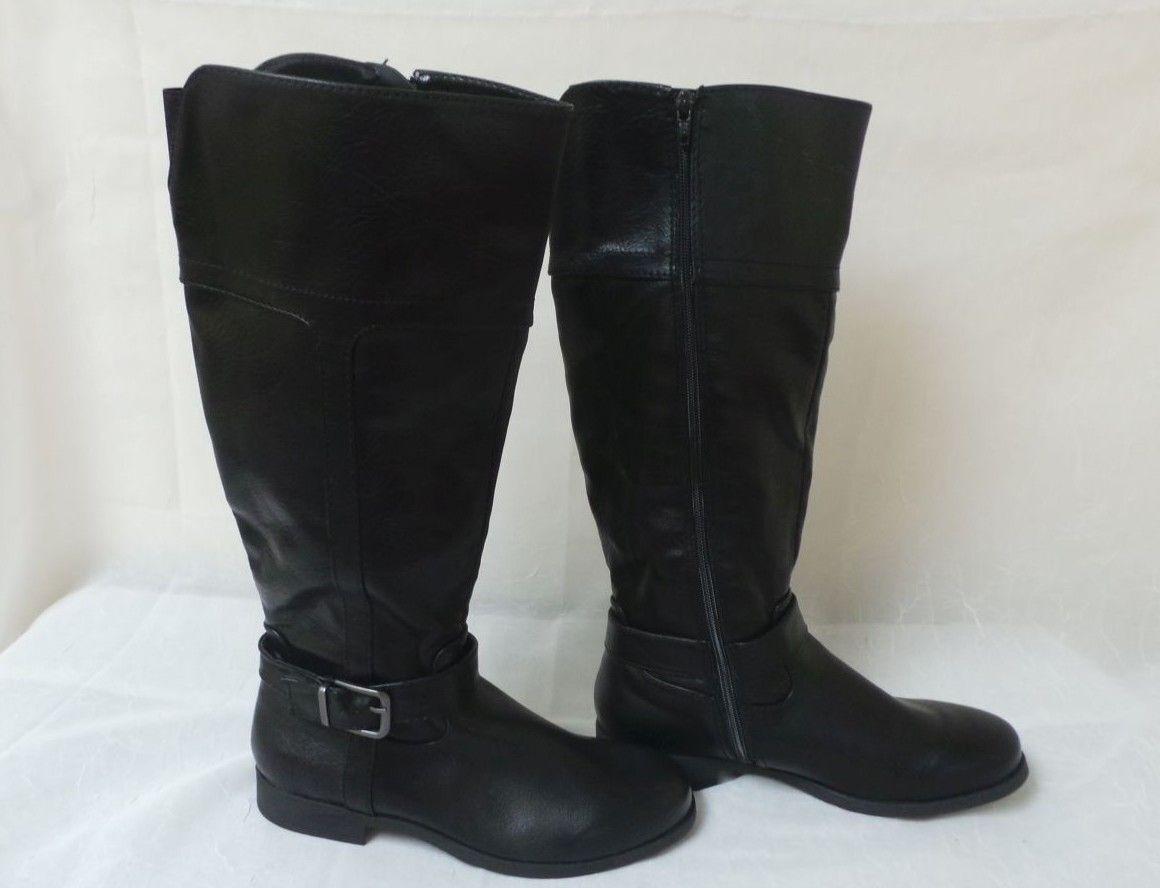 nuevo  Croft & Barrow Mujer Annie Rodilla alta botas De Montar Estilo 125645 7B Sr