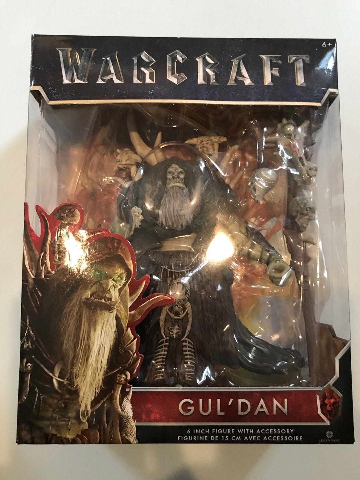 Warcraft gul 'dan 6  action - figur mit zubehör