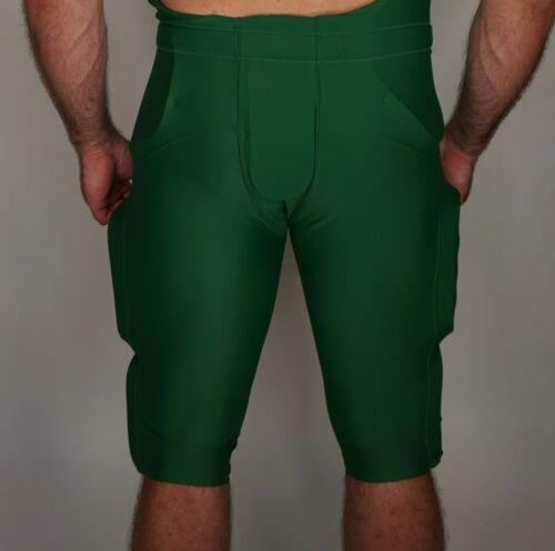 GREEN USED Football PANTS ADULT L