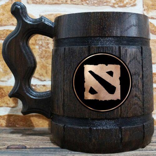 Gamer Gift Dota Beer Mug Personalized Stein Custom Gift for Him