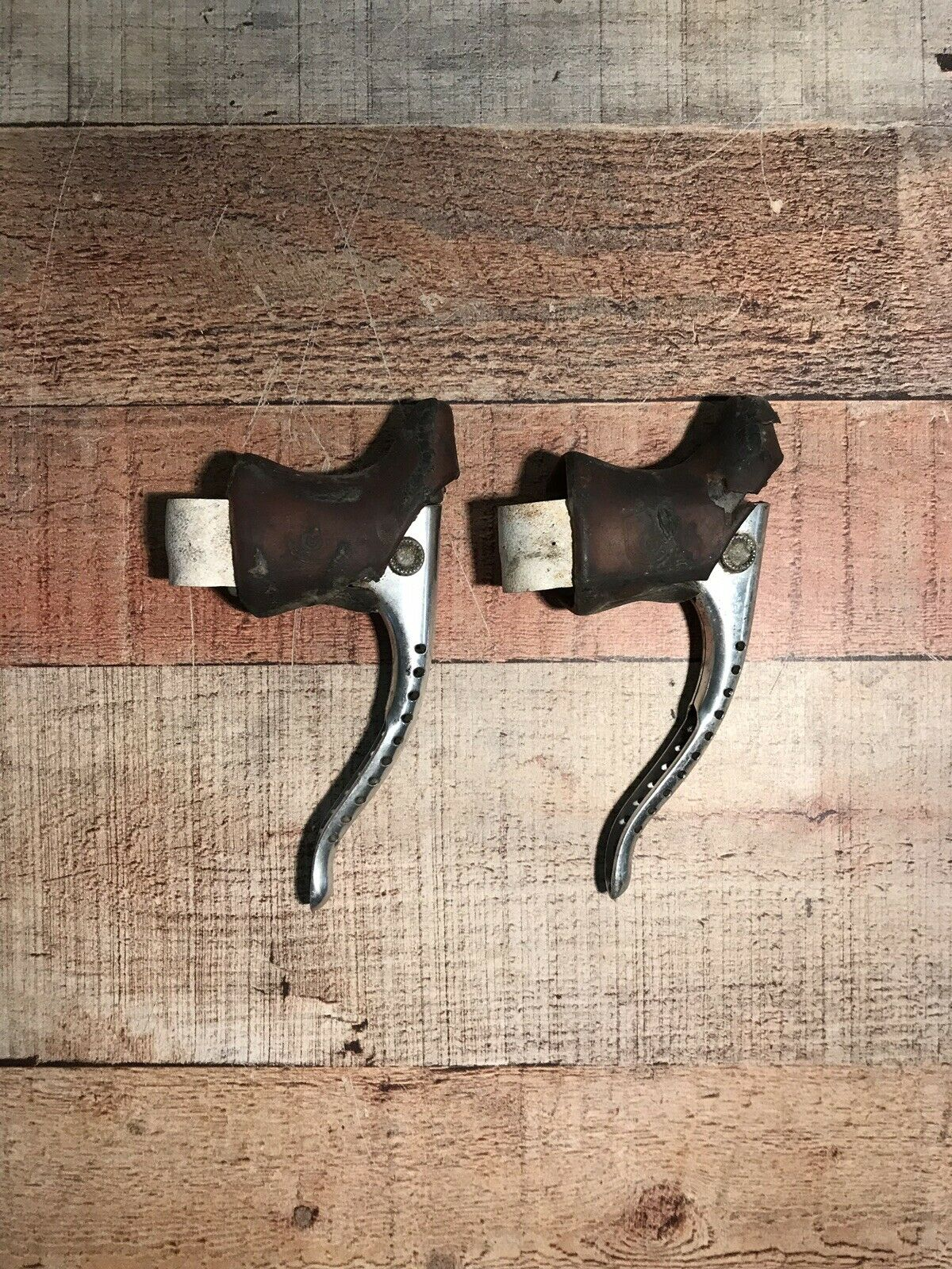 Vintage Campagnolo Super Record Brake Levers