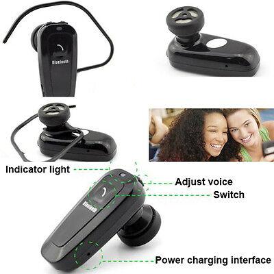 New Universal Hands-free Bluetooth Earphone Headset w/ Mic For Samsung iphone LG