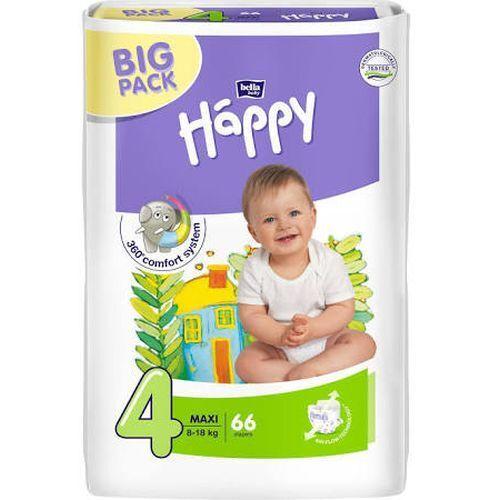 atmungsaktiv Bella Happy Babywindeln Maxi Gr 66 Stück 4-18 kg 4