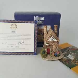 Lilliput-Lane-Cottages-Campden-Cot-Cottage-L2184-in-Box-with-Deeds-CoA-A10