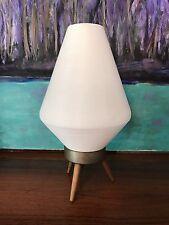 1960s Retro Mid Century Modern Atomic MCM Plastic BeeHive Cone McCobb Era Lamp