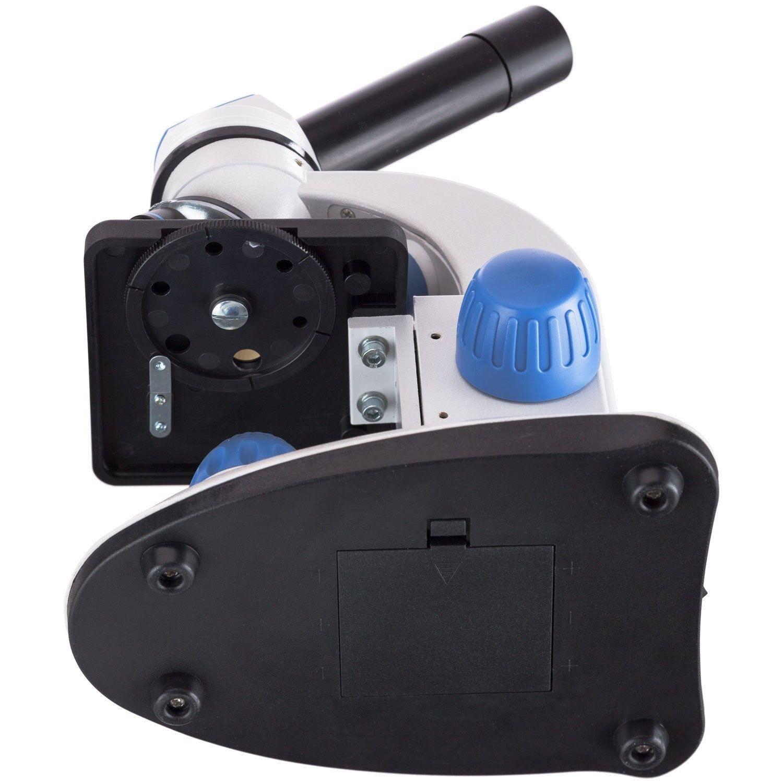 AMSCOPE-KIDS M50C-B-WM-E Dual Illumination Illumination Illumination Microscope (bluee) with Camera + Book 6c0fc1