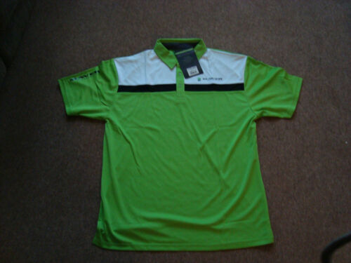 New Maver Performance Polo shirts in Grey or Green