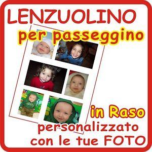LENZUOLINO-per-PASSEGGINO-034-PERSONALIZZATO-034-con-6-FOTO