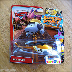 Disney PIXAR Cars RON HOVER on RADIATOR SPRINGS CLASSIC TOYS R US ...