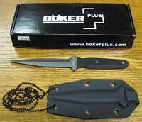 NEW Boker Plus 02BO275 Besh Wedge Fixed Blade Neck Knife & Kydex Sheath 440C