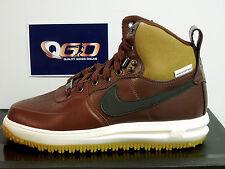 Weathershield Nike Air Force 1 tenis 654481 200 Marrón/Negro UK 6 EU40! nuevo!