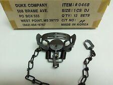 1  Duke #1 Double Jaw Coil Spring Trap Muskrat Mink Squirrel Rabbit 0468