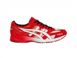 Details zu ASICS Running Marathon Shoes TARTHER JAPAN TOKYO 1013A085 CLASSIC RED WHITE
