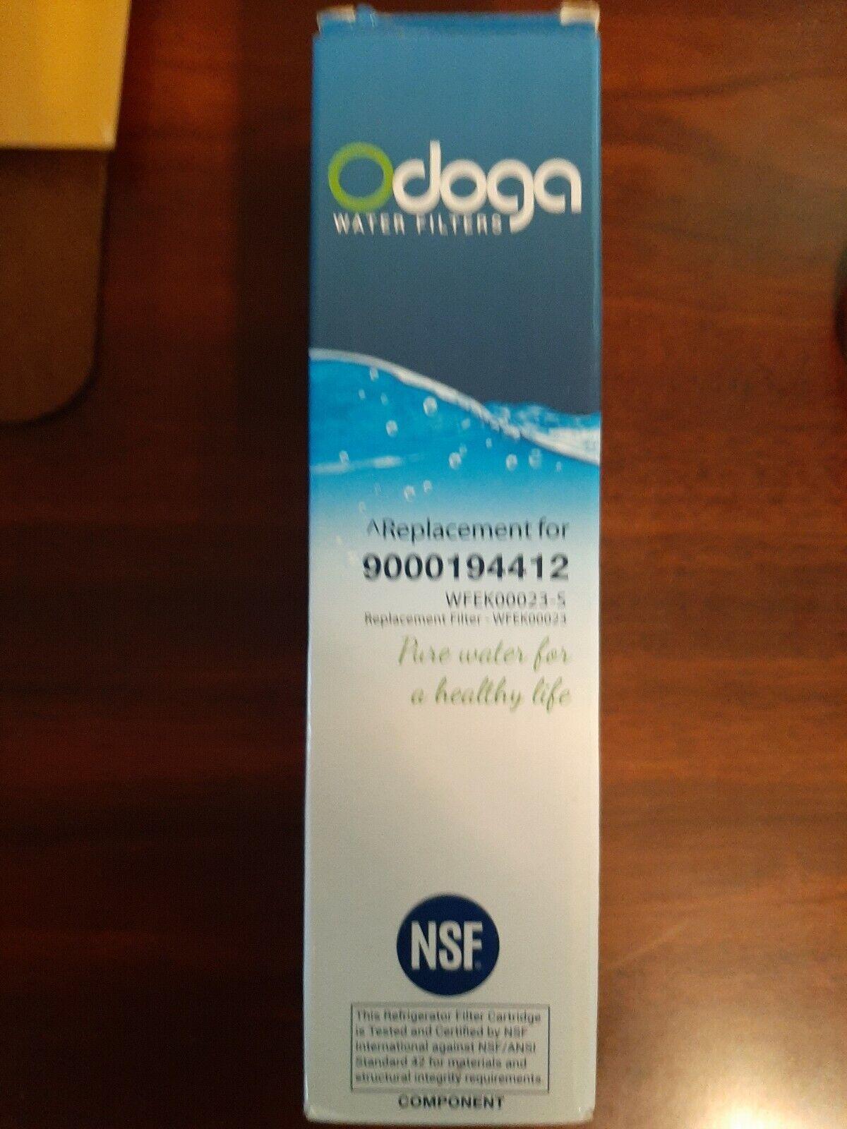 Bosch 9000194412 Ultra Clarity Refrigerator Water Filter Lot of 5