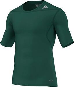 adidas Funktionsshirt TechFit Laufshirt T Shirt Fitness