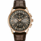 Citizen AT8113-04H 43mm Eco-drive Men's World Time Chronograph Watch - Rose-Gold