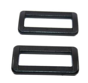 10 x Schieber für 30 mm Band schwarz