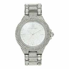 Michael Kors Camille 42 mm Silber Stainless Steel Gehäuse 22
