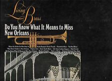 Living Brass - Do You Know What It Means To Miss New Orleans - jazz LP