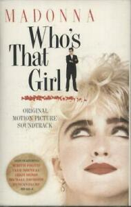 Madonna cassette album Who's That Girl UK WX102C SIRE 1987