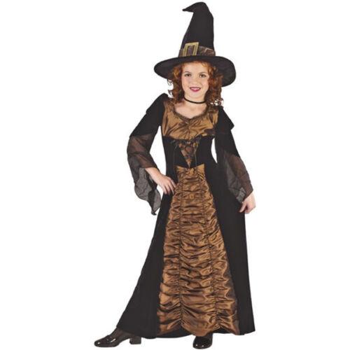 Childs Elegant Coffin Witch Costume