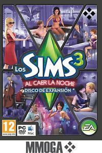 Los-Sims-3-Al-caer-la-noche-Disco-de-Expansion-Late-Night-Addon-PC-EA-Origin