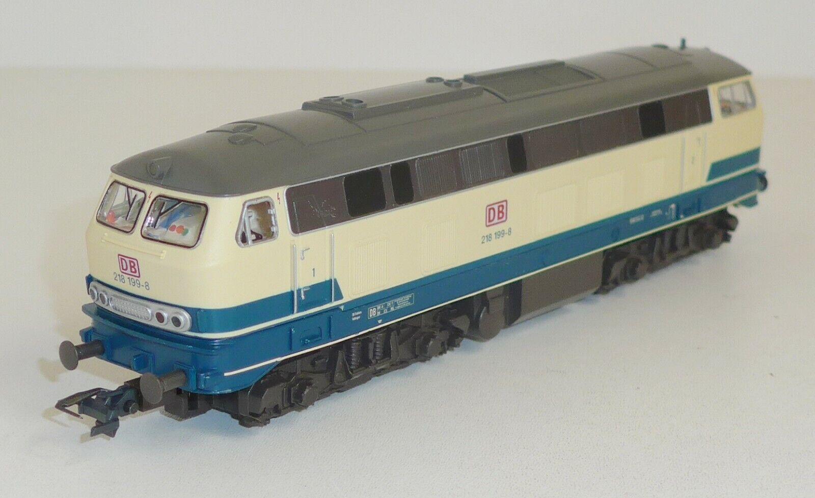 Piko hobby 57517 DB diesellok br 218 199-8 Lenz digital OVP h0