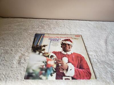 CHARLEY PRIDE ~ CHRISTMAS IN MY HOME TOWN ~ 1970 ~ LP   eBay