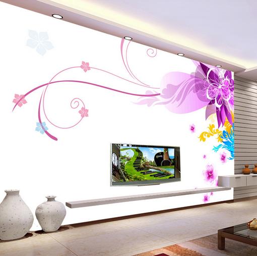 3D Blossom Paint 454 Wallpaper Murals Wall Print Wallpaper Mural AJ WALL UK Kyra