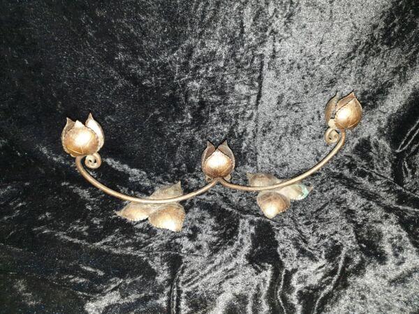 Alte Kupferblume Für Sideboard,schrank O. Tisch Deko O. Kerzenhalter