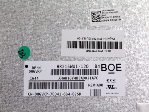 """New Dell Optiplex 3240 AIO 21.5/"""" LCD Screen W//Digitizer LM215WF3 X4WTW 6N7YN"""
