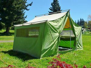 ... Tenda-De-Lona-Coleman-American-Heritage-12-039- & Canvas Tent Coleman American Heritage 12u0027 X 9u0027 X 7u0027 9