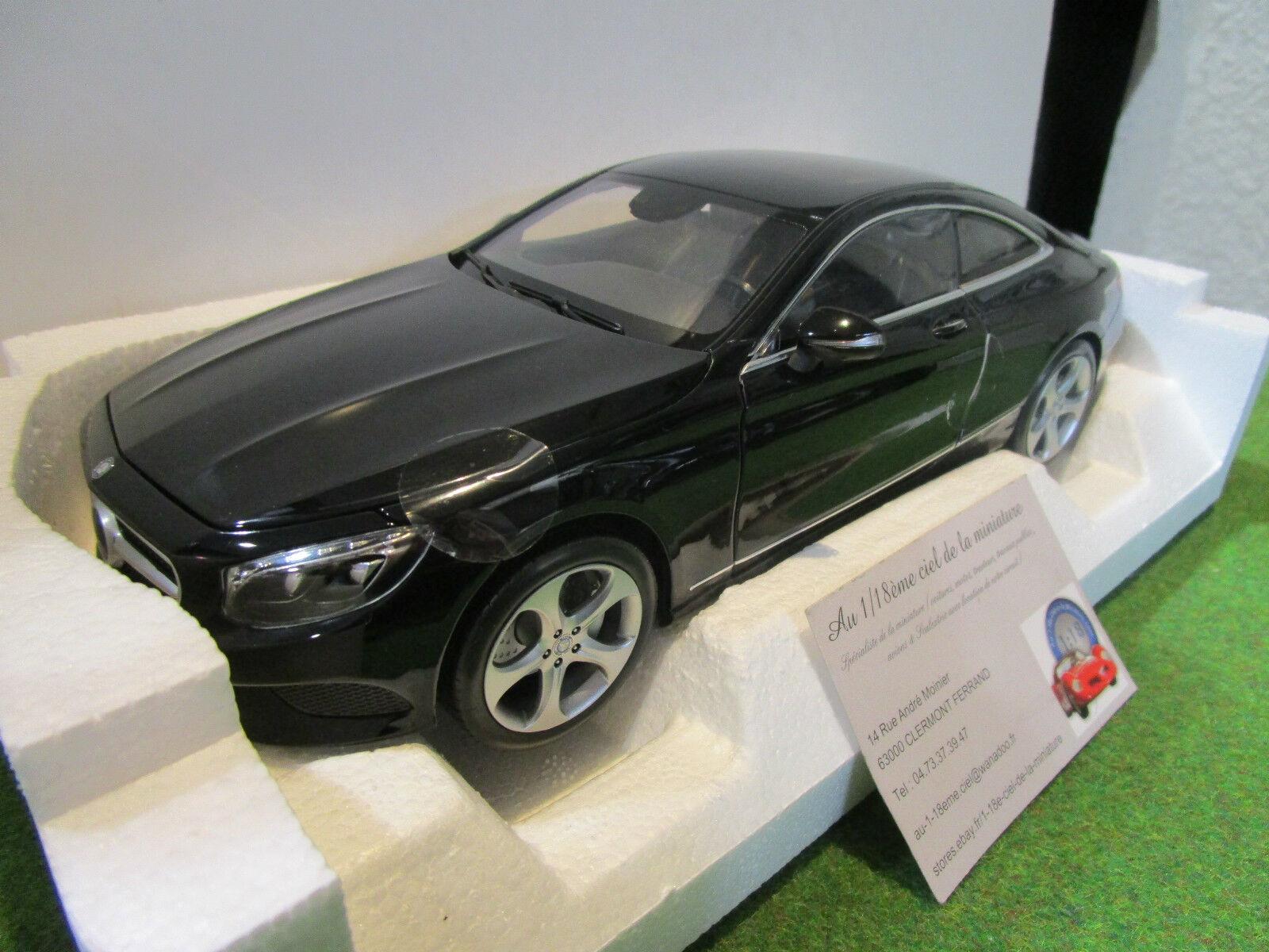 MERCEDES S-CLASS coupé 2014 noire 1 18 NOREV 183482  voiture miniature collection  avec le prix bon marché pour obtenir la meilleure marque