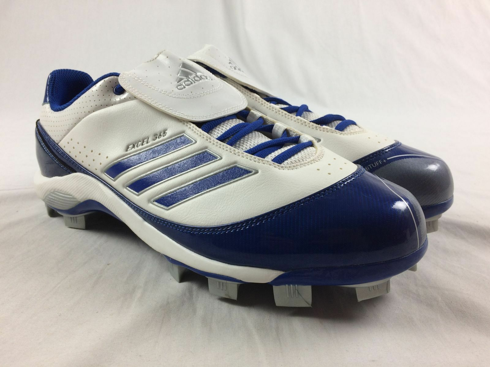 NEW adidas AS SMU Excel 365 TP - White bluee Cleats (Men's Multiple Sizes)