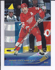 1995-96 Pinnacle Rink Collection #74 Dino Ciccarelli Detroit Red Wings